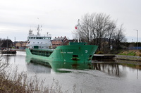 Arklow Rogue  departing Latchford 2nd April 2015