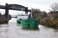 Arklow Rogue arriving Latchford 2nd April 2015