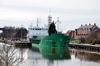 Arklow Rogue inward with grain for Manchester