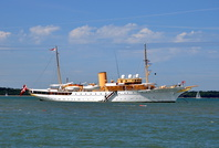 Danish Royal Yacht Dannebrog built 1932