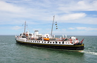 MV Balmoral July 2015 at Llandudno