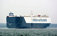 Hoegh Xiamen IMO 9431848 47232gt Built 2010