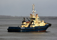 Svitzer Milford on the Mersey