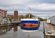 Deo Gloria at Irlam Locks