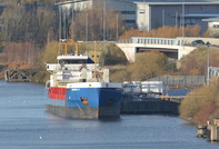 Hendrik S at Weaste Wharf Salford 8th December 2015