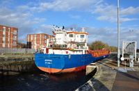 Jevenau at Irlam Locks 20th December 2015