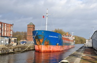 Fehn Capella at Irlam Locks