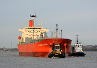 Grande Riviere withTugs Zeebrugge & Smit Waterloo