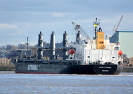 Ultra Tolhuaca arriving Liverpool 14th February 2016