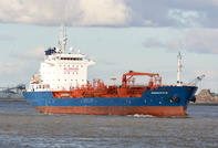 Mississippi Star at Seacombe inward for Stanlow