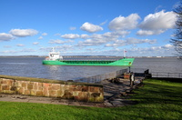 Arklow Raven passing Eastham Country Park