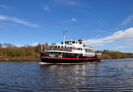 Royal Iris on the Manchester Ship Canal Cruise