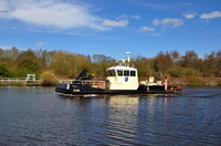 Fosser heading back to Eastham after operations at Salford Quays