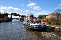 Royal Iris heads for Eastham on the Ship Canal Cruise