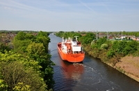 Stolt Jaeger sailing for Stanlow 13th May 2016