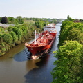 Stolt Jaeger approaching High Level Bridge 13th May 2016