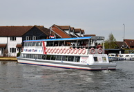 Queen of the Broads at Wroxham