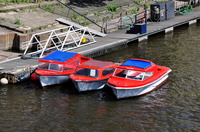 Red Boats Tina Sixpence & Leonia at York