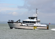 Seacat Freedom wind farm Vessel