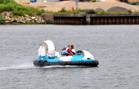 Hovercraft on the Medway