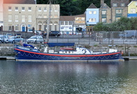 RNLB William & Kate Johnston Built 1923 Barnet Class  at Dover
