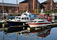 Lucky M at Hull Marina