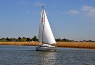 Reedham on the Norfolk Broads