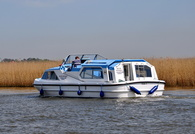 Silver Mystique at Reedham