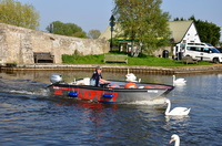 East Anglian Cruising Club Safety Boat