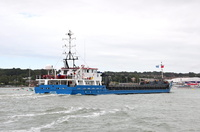 Sylvia IMO 9454383 1917gt Built 2008 arriving Cowes