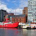 Lightship Planet preparing for Tow to Gloucester