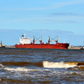Bulk Carrier Alicia arriving Liverpool
