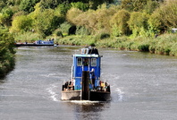Workboat Arley at Acton Bridge