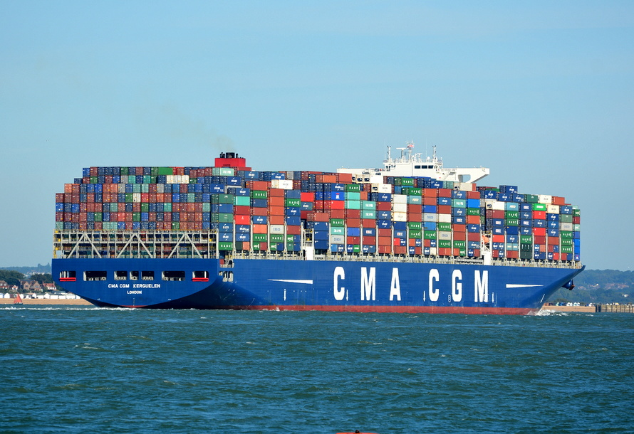 CMA CGM Kerguelen | Ships of the Mersey