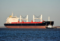 Bulk Carrier C P Tianjin arrives on the Mersey