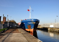 Noest arrives Irlam after discharging at Weaste