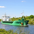 Arklow Field passing Thelwall Ferry 5th May 2017