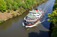 Royal Iris on a Manchester Ship Canal Cruise