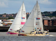 Round the World Yacht Race Aug 20th  2017 Liverpool