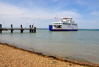 Wight Sky arriving Yarmouth