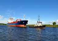 Amur Star & MSC Viking at Ellesmere Port