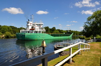Arklow Rebel passing Thelwall Ferry 22nd June 2018