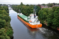 Alecto a new vessel on the Salford cement run