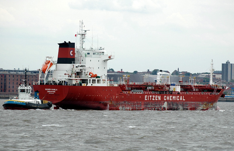 Sichem Manila IMO 9322097 8562gt Built 2007 Chemical/Oil Tanker Flag