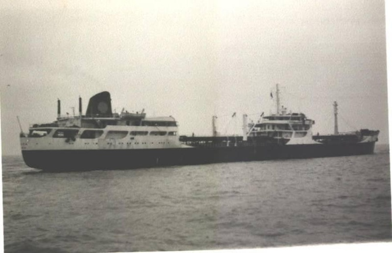 Aulica   Shell Tankers Built 1960