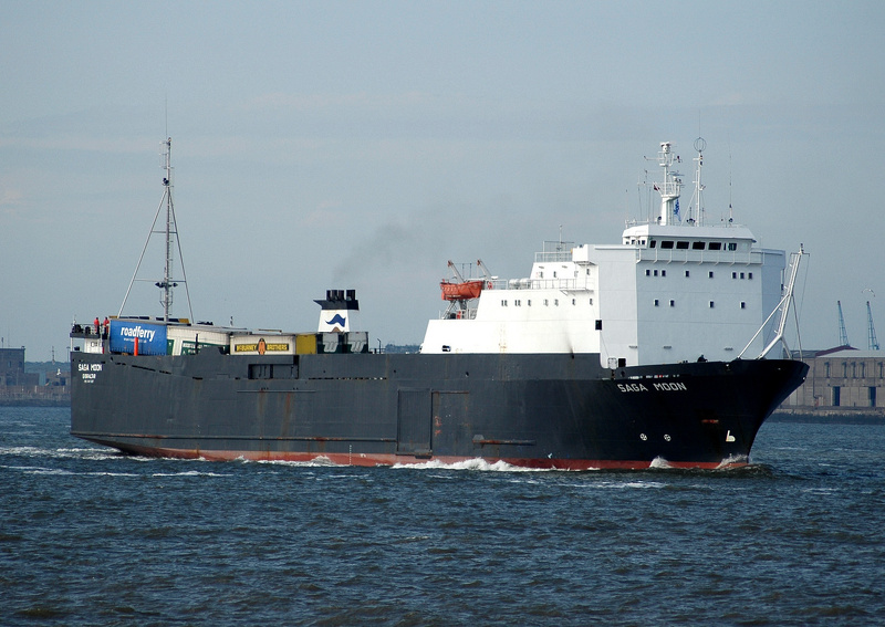 Saga Moon IMO 8411267 7746gt Built 1984 Ro Ro Cargo Ship