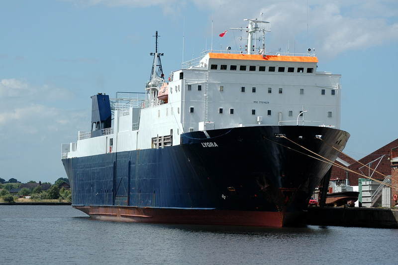 Lygra IMO 7704629 1597gt Built 1979 Ro Ro Cargo Ship Flag Norway