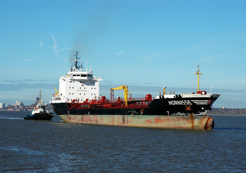 Hornisse IMO 9186725 8066gt Built 1998 Chemical/Oil Products Tanker